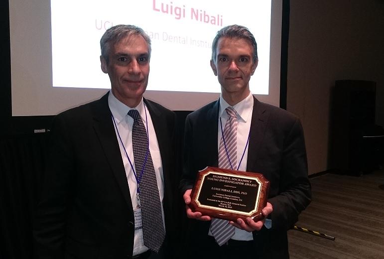 Dr Luigi Nibali Award