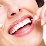 Flossing is essential to maintain gum health