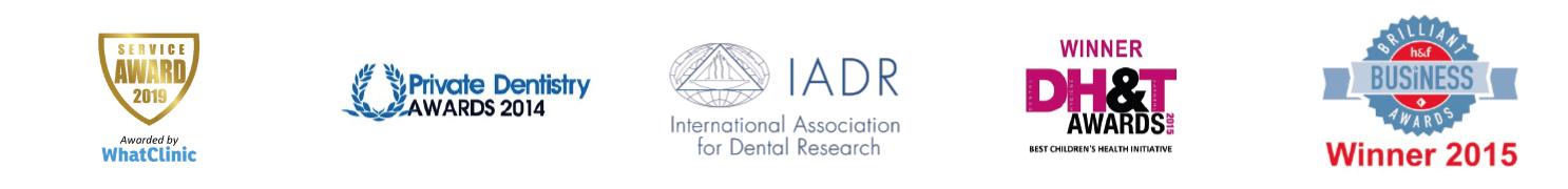 Our Prestigious Awards - Ravenscourt Dental Practice